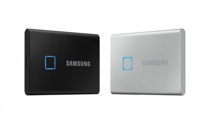 T7 Touch: Ultra rýchle externé SSD disky s čítačkou odtlačkov prstov