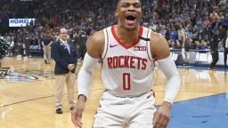 NBA: Westbrook sa vrátil do Oklahomy City, zažil prehru Houstonu