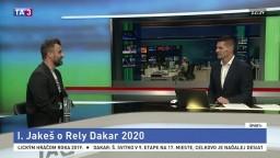 HOSŤ V ŠTÚDIU: Motocyklista I. Jakeš o Rely Dakar 2020