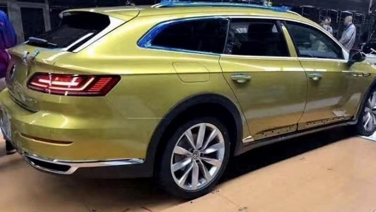VW Arteon Shooting Brake v sériove podobe!