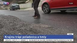 Slovensko trápi poľadovica, platí výstraha prvého stupňa