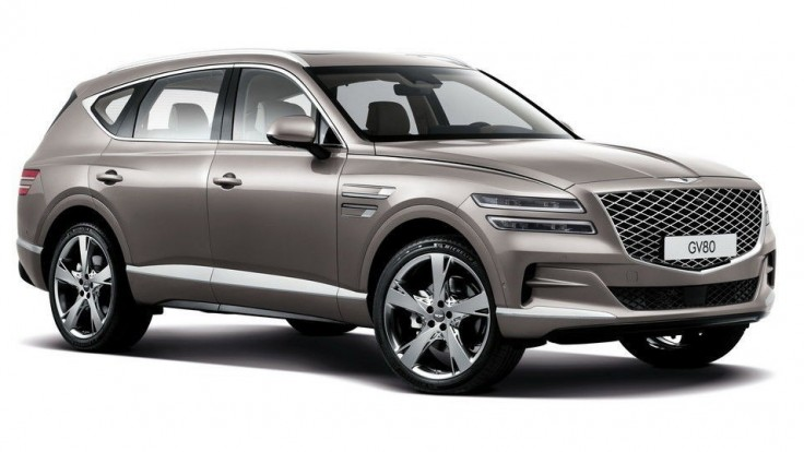 Luxusné SUV Genesis GV80 konečne oficiálne predstavili!