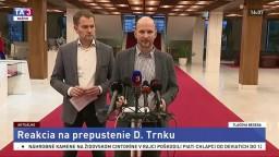 TB predstaviteľov hnutia OĽANO k prepusteniu D. Trnku