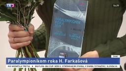 Paralympionikom roka sa stala úspešná lyžiarka H. Farkašová