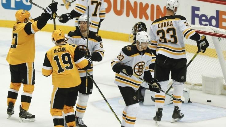 NHL: Boston prišiel o náskok, kapitán Chára má dve strely