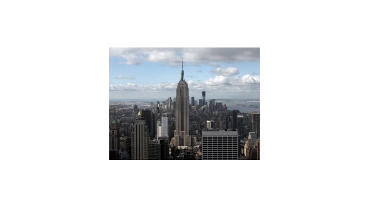 Empire State Building sa rozsvietil vo farbách Slovenska