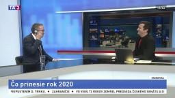 HOSŤ V ŠTÚDIU: Ekonóm M. Brütsch o tom, čo prinesie rok 2020