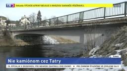 Odklonenie kamiónov cez Tatry odmietajú, hrozí blokáda cesty