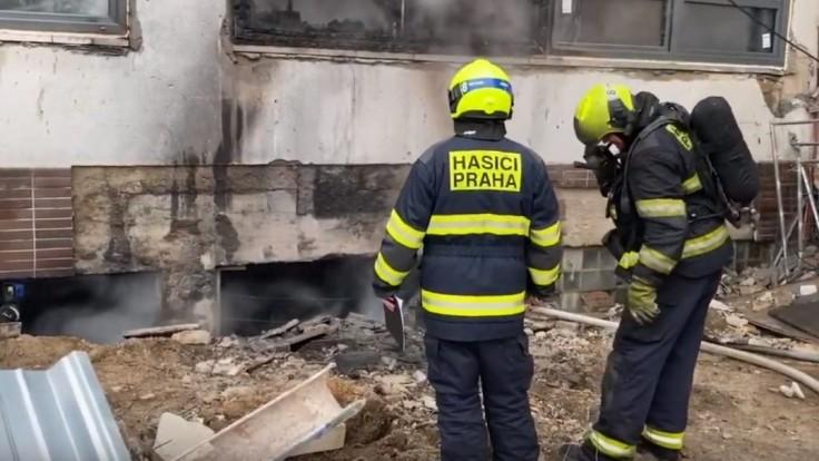 Pražský Barrandov zachvátil požiar, hustý dym vydesil ľudí