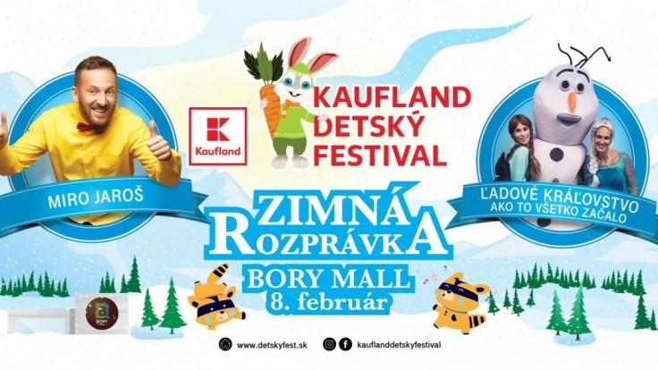 Kaufland sa stal novým generálnym partnerom Detského festivalu