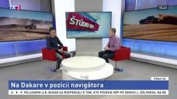 M. Sýkora o pozícii navigátora na Rely Dakar