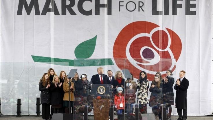 Trump ako prvý americký prezident podporil pochod za život