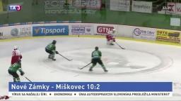 Nové Zámky deklasovali Miškovec, rozhodlo sa v druhej tretine