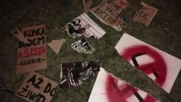 Agresívny útok po mítingu ĽSNS, napadli ľudí s transparentmi