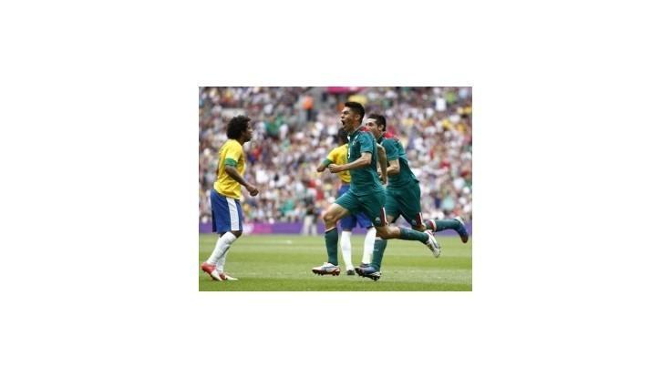 Mexiko vo finále olympijského turnaja zdolalo Brazíliu 2:1