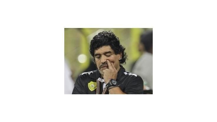 Maradona chce trénovať v Číne