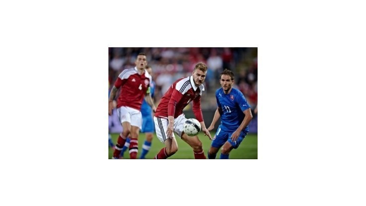 Slovenskí futbalisti prekvapili v Dánsku