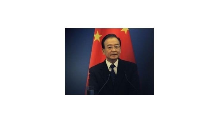 Čína dosiahne plánovaný rast HDP, vyhlásil premiér Wen Ťia-pao