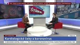 ŠTÚDIO TA3: R. Hatala o vplyve koronavírusu na kardiologické lieky