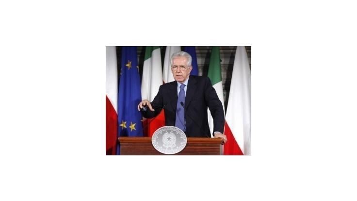 Monti: Koniec krízy v Taliansku je na dohľad