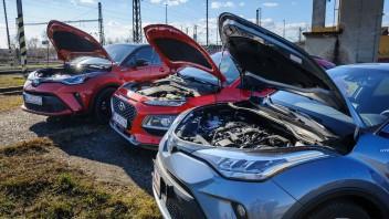 TEST hybridov Toyota C-HR a Hyundai Kona: Dve cesty, jeden cieľ