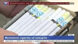 Mentolové cigarety končia, EÚ zakázala ich predaj