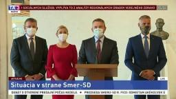 TB P. Pellegriniho a podpredsedov Smeru-SD o predsedovi R. Ficovi
