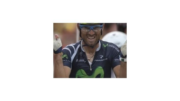 Valverde víťazom ôsmej etapy na Vuelte, vedie Rodríguez