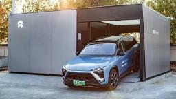 Auto stanice Nio už vymenili 500 000 batérií v elektromobiloch