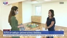 Odborná asistentka J. Maroszová o prvej univerzitnej škôlke na STU