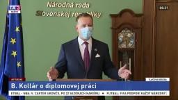 TB predsedu NR SR B. Kollára k jeho diplomovej práci