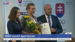 Ocenili slovenských športovcov. Nechýbali Volko a Kuzminová