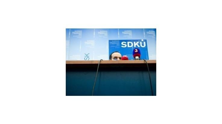 SDKÚ chce prezidentského kandidáta, ktorý je schopný poraziť Smer