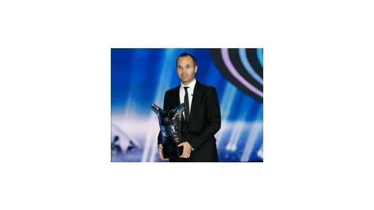 Najlepším európskym futbalistom za sezónu 2011/2012 sa stal Iniesta