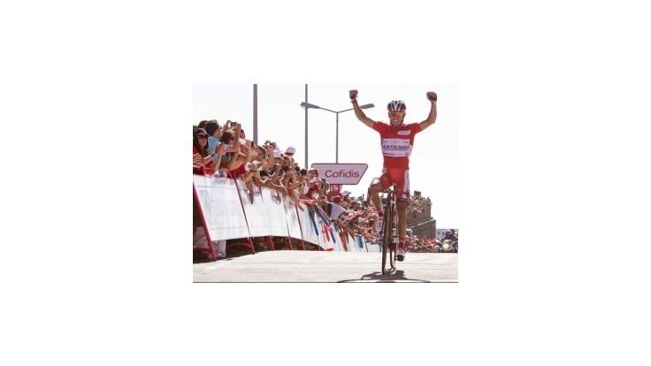 Víťazom 13. etapy na Vuelte Cummings, Rodríguez na čele