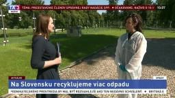 P. Cséfalvayová o rastúcej recyklácii odpadu na Slovensku