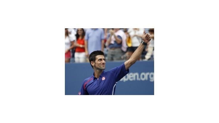 US Open: Obhajca titulu Djokovič sa dostal hladko do osemfinále