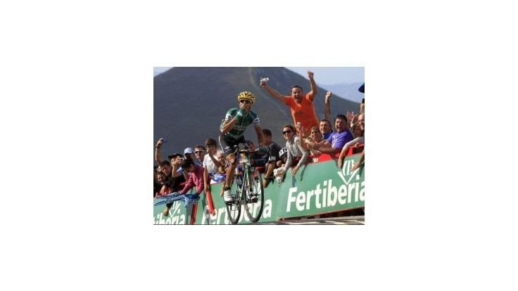 Piedra víťazom 15. etapy Vuelty, Rodriguez si upevnil pozíciu lídra