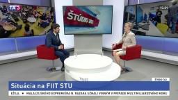 ŠTÚDIO TA3: Prodekan FIIT STU L. Šoltés o situácii na fakulte