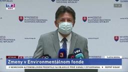 TB ministra J. Budaja o ušetrených peniazoch a zmenách v envirofonde