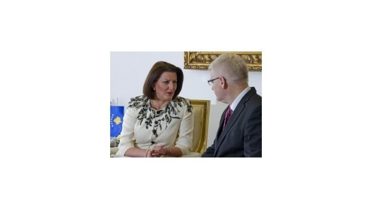 Kosovská prezidentka žiada o predĺženie misie EULEX