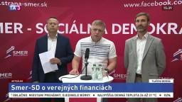 TB strany Smer-SD o verejných financiách