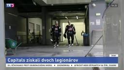 Bratislava Capitals získal pred novou sezónou dvoch nových hráčov