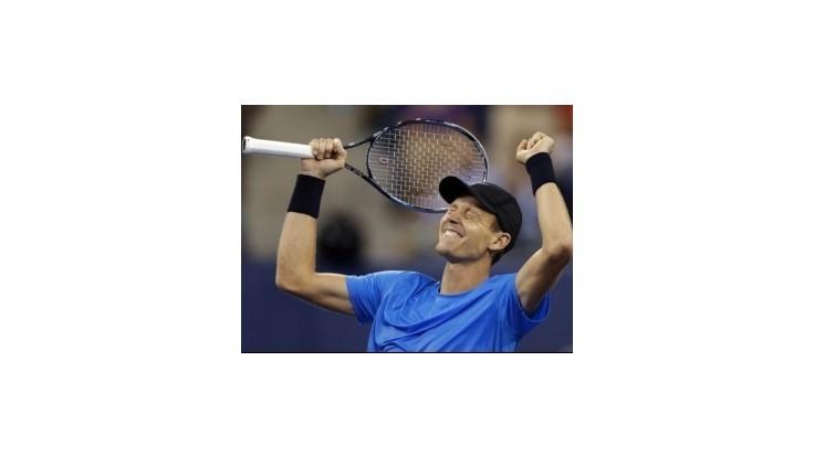 Berdych vyradil vo štvrťfinále Federera, čaká ho Murray