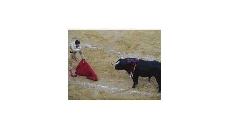 Naživo vysielané býčie zápasy sa vrátili na španielske obrazovky