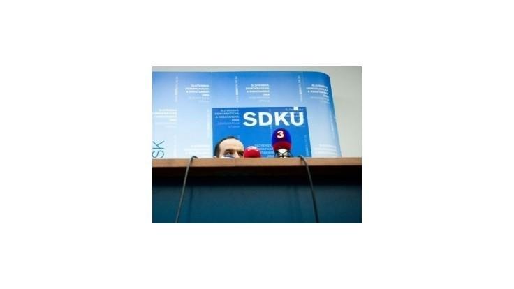 SDKÚ-DS predstaví nové programové východiská