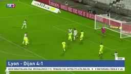 Po preložení prvého kola Ligue 1 privítali futbalisti Lyonu Dijon