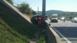 Po tragickej nehode hlásia mŕtveho, auto vyletelo mimo cesty
