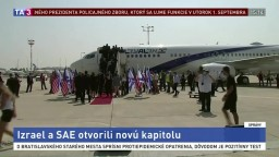 Prvý komerčný let medzi Izraelom a SAE sa stal skutočnosťou