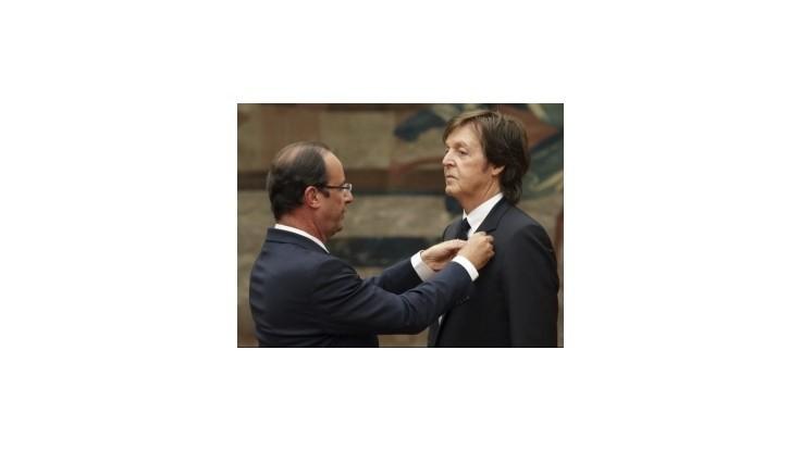 Paul McCartney dostal Rad čestnej légie